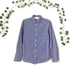 TRISTAN | Embroidered Blouse